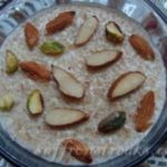 diwali recipes – broken wheat kheer