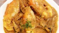&#8230;Poilabaisakh special recipes&#8230; &#8230;chingrimalai curry or prawns / lobsters stewed in creamy coconut milk&#8230; On one of my regular visit to Mumbai, we once dined in Gajaleeat Andheri which is very famous for its seafood. Food was excellent but only if they could increase the portion that was being served specially for the lobster that we had ordered. The dish was pricey too. Not satisfying and still wanting some more, the very next day we went to Andheri&#8217;s local fish...