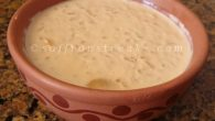 Bengali nolen gurer payesh or rice pudding with date jaggery / molasses is the most favoured desserts in Bengali homes for any occasions. Ingredients: Milk: 200ml Rice (gobindo bhog) or any fragrant rice: 6 tsp Date jaggery / molasses (crushed) : 1/2 cup Bay leaf: 1 or 2 Cardamom pods: 2-3 Method: Soak the rice (gobindo bhog or dubraj or any fragrant small to medium grain rice in water for 30 minutes. Drain and let it dry for few more...