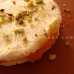 mango sandwich sandesh