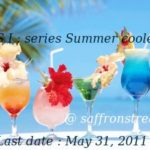 seasonal indulgence – series summer coolers