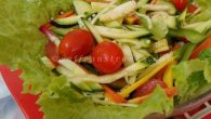 This is a very basic salad recipe which I am going to share with you today and incidentally this is also my first post on salads. I am always up for fanciful salads and for me it has to be visually appetizing, but most of the time I end up doing this – an everyday green salad with a basic vinaigrette dressing. This vinaigrette salad is all-year, all-occasion kind of , either you dress it up and tossed with an...
