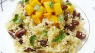 Food critic Susan Fairbank once wrote : &#8221; rice and beans are sacred, they are our daily bread, our comfort food. Rice and beans are our soul food and a synergies dish that makes a deliciously healthy block of complete protein when combined together. &#8221; She has beautifully encapsulate in these few lines, the essentiality of rice and beans for human sustenance. Rice is staple for more than half of the world&#8217;s population and beans are scattered throughout the world...