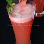 sugar free watermelon mint lemonade – the perfect summer cooler