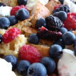 mixed berry french toast bake for a berrylicious summery breakfast