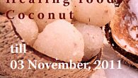 With immense pleasure I am announcing a very popular event  healing foods, a very creative and wonderful event started by Siri of cooking with Siri. I would like to extend my warm wishes toSiri for starting and making this wonderful event a huge success and thanks for letting me guest host this wonderful event. October being the festive month, I have chosen Coconut asthe themeandam sure my blogger friends and readers will support me in this venture too by...