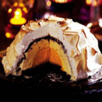 hidden treasure inside the baked alaska for masterchef