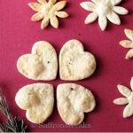 Rosemary cookies with lemony flavour
