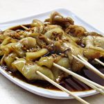 Thai grilled squid with green sauce –  a guest post by Tes