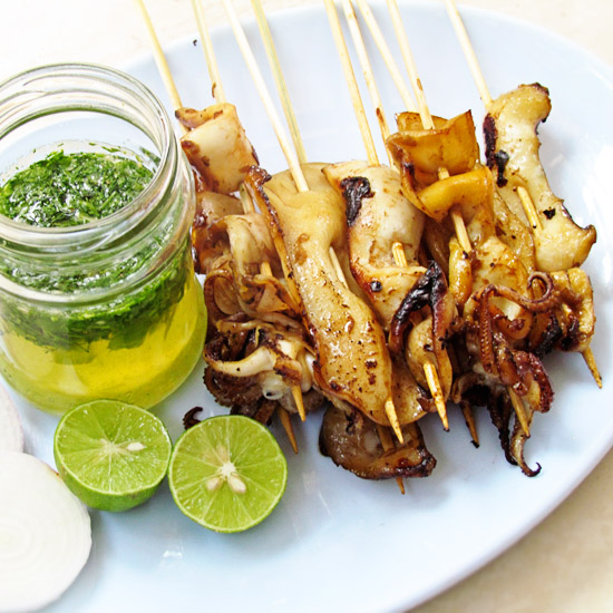 thai grilled squid