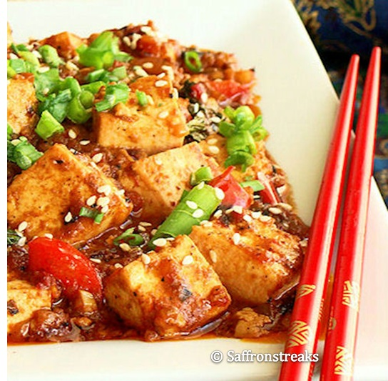 Thai stir fried tofu