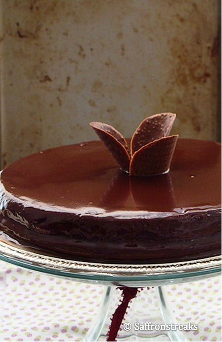 Southern-Style Chocolate Cake With Chocolate Ganache Frosting Recipes ...
