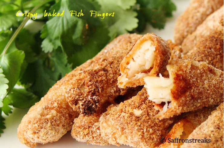crispy fish fingers