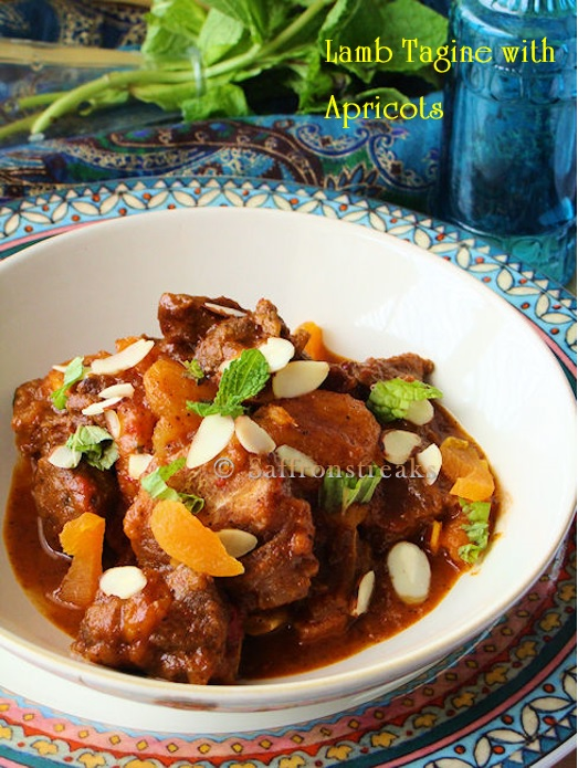 ... lamb stew with almonds and lamb squash apricot tagine tagine of lamb