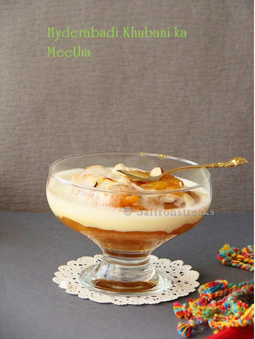 apricot fool pudding