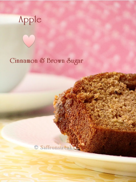 apple tea cake