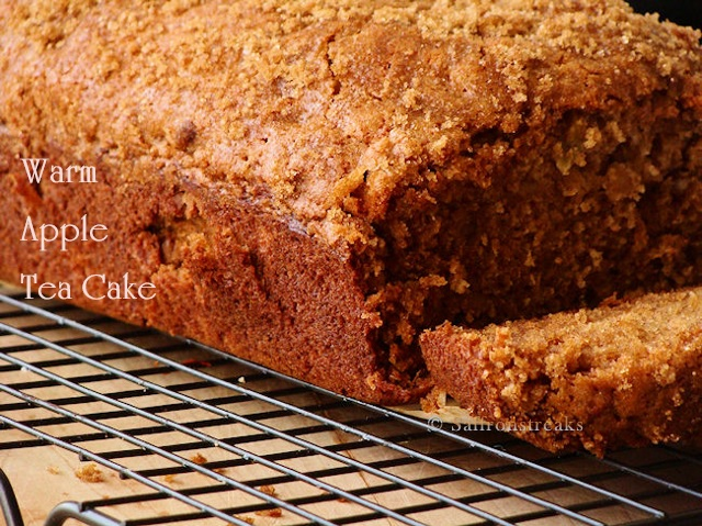 apple spice tea cake