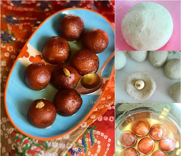 sweet potato jamuns