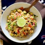 Mediterranean chickpeas couscous salad and why should women stop trying to be a superwoman