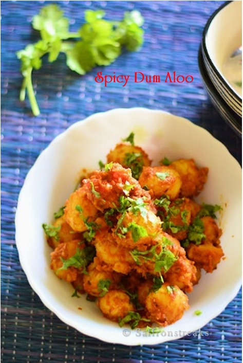 spicy dum aloo recipe