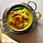 Bengali fish stew with summer vegetables / macher jhol – for babies and toddlers