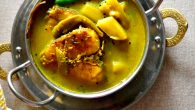 Bengali's love for fish is an universal truth and so much so that we are often stereotyped by rest of India as only fish and rosogolla eating people. While we love our fish and devour the rosogolla at the drop of hat, we adore our greens too, saag and vegetables remain integral to our daily meal. A Bengali meal can not be said to be complete without fish and vegetables and on some days, together they makes one – pot […]